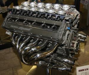 Макларен Ф1 двигатель