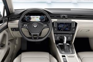 Volkswagen Passat B8 салон