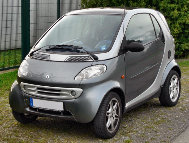 Smart fortwo 1999 года