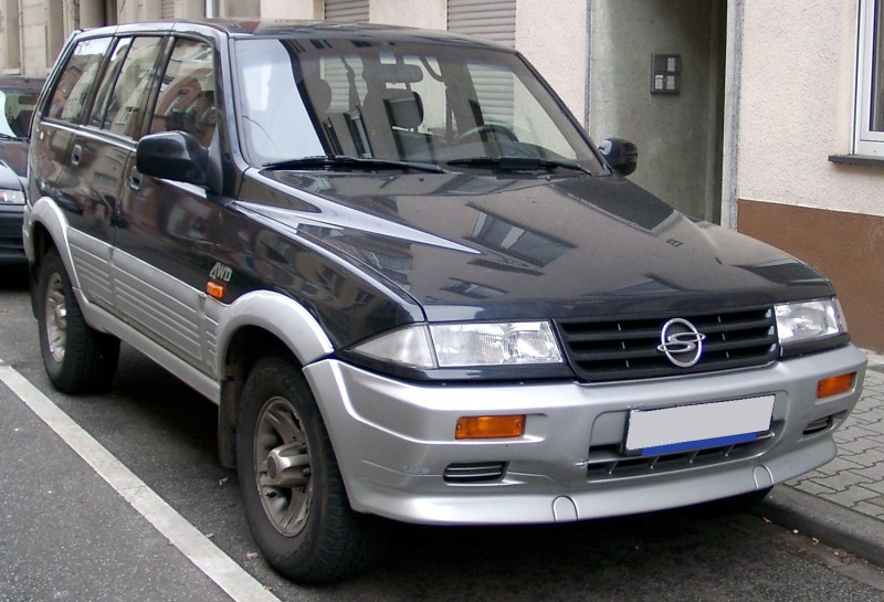 SsangYong Musso 1993 года