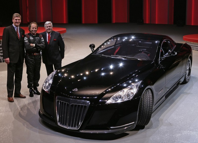 Maybach Exelero 2005 года