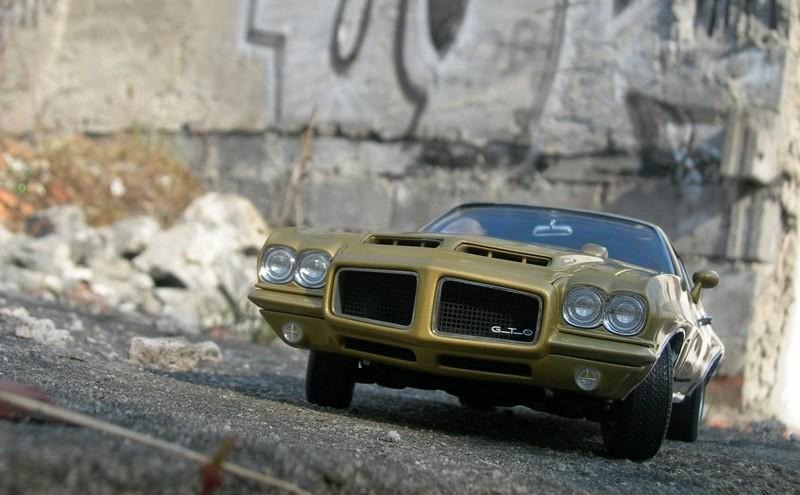 Вид спереди Pontiac GTO 455