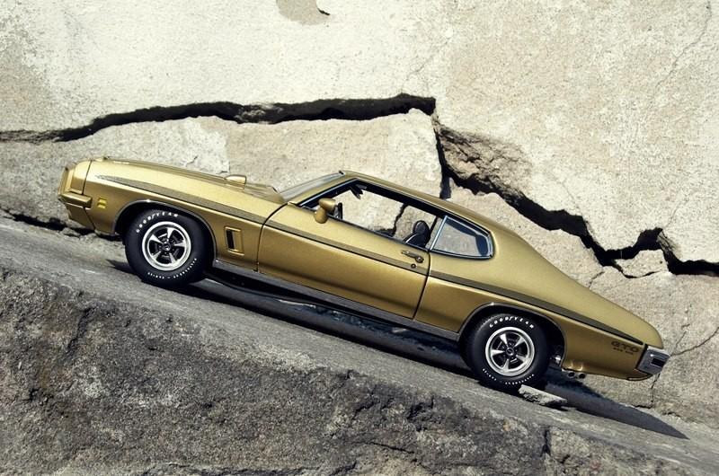 Вид сбоку Pontiac GTO 455