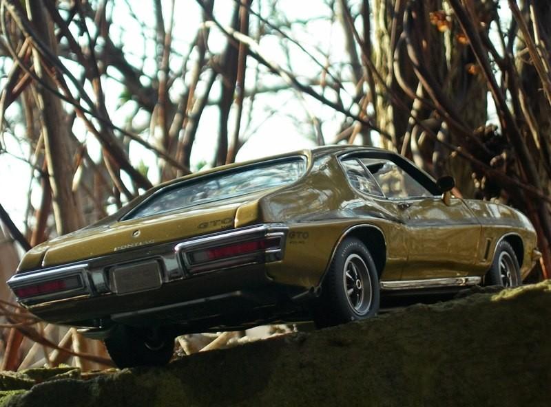 Автомобильная модель Pontiac GTO 455