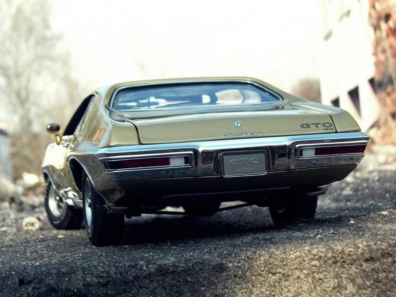 Вид сзади Pontiac GTO 455