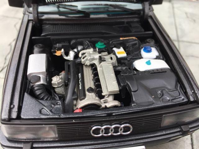 Двигатель Audi quattro