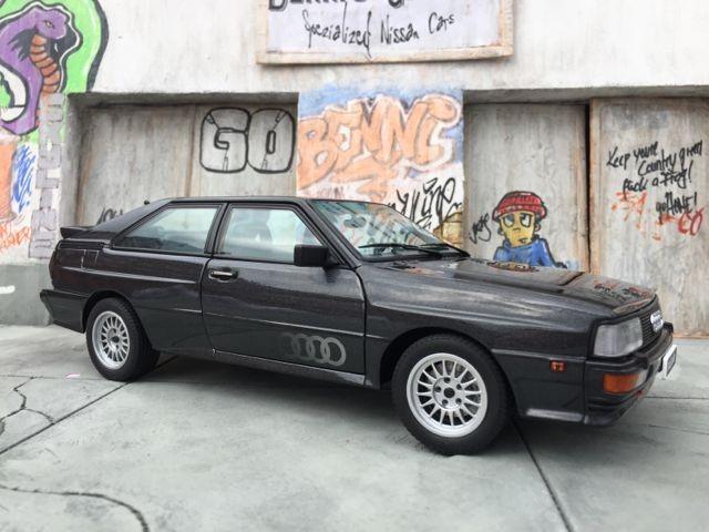 Вид сбоку Audi quattro