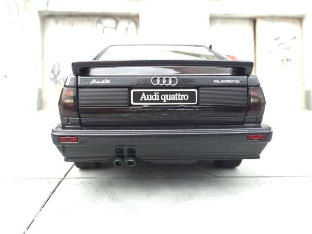 Вид сзади Audi quattro