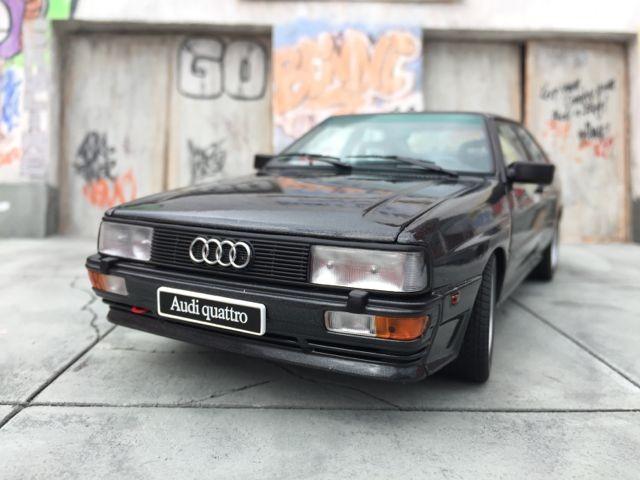 Автомобильная модель Audi quattro