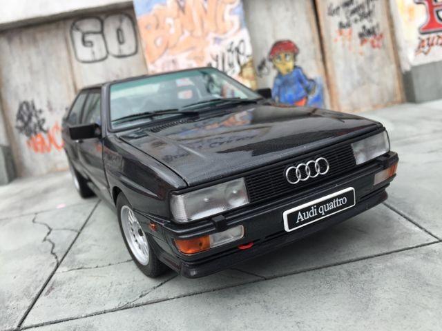 Вид спереди Audi quattro