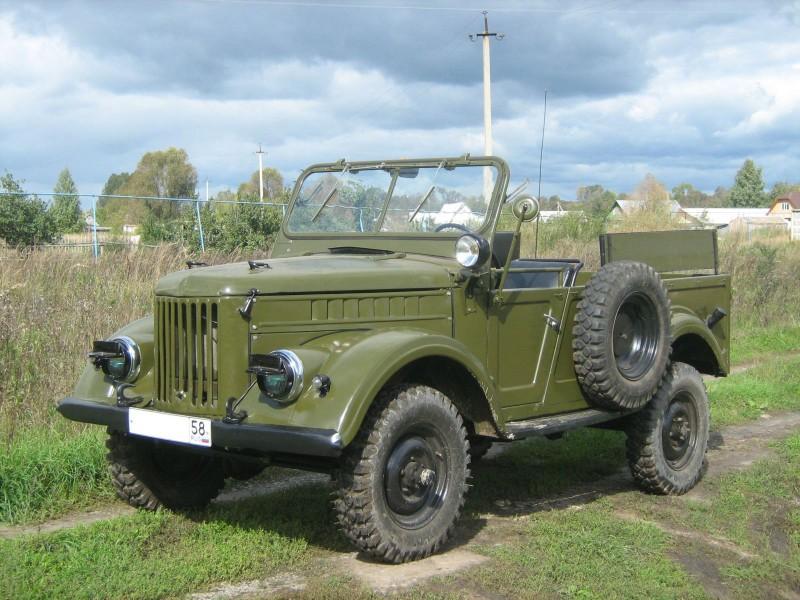 ГАЗ-69, фото, которого сегодня зачастую встречаются в ретро обзорах, среди автомобилей с повышенной проходимостью