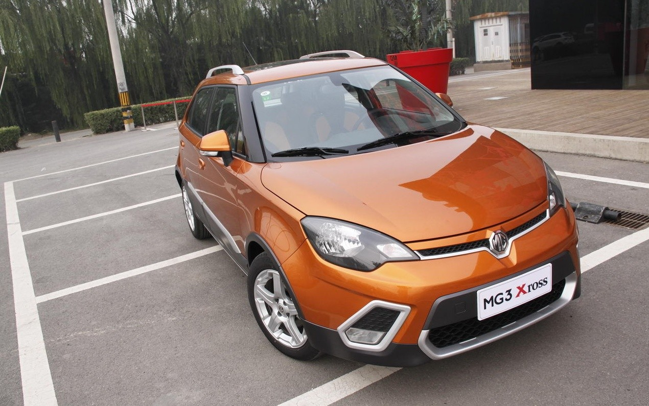 MG3 XROSS car