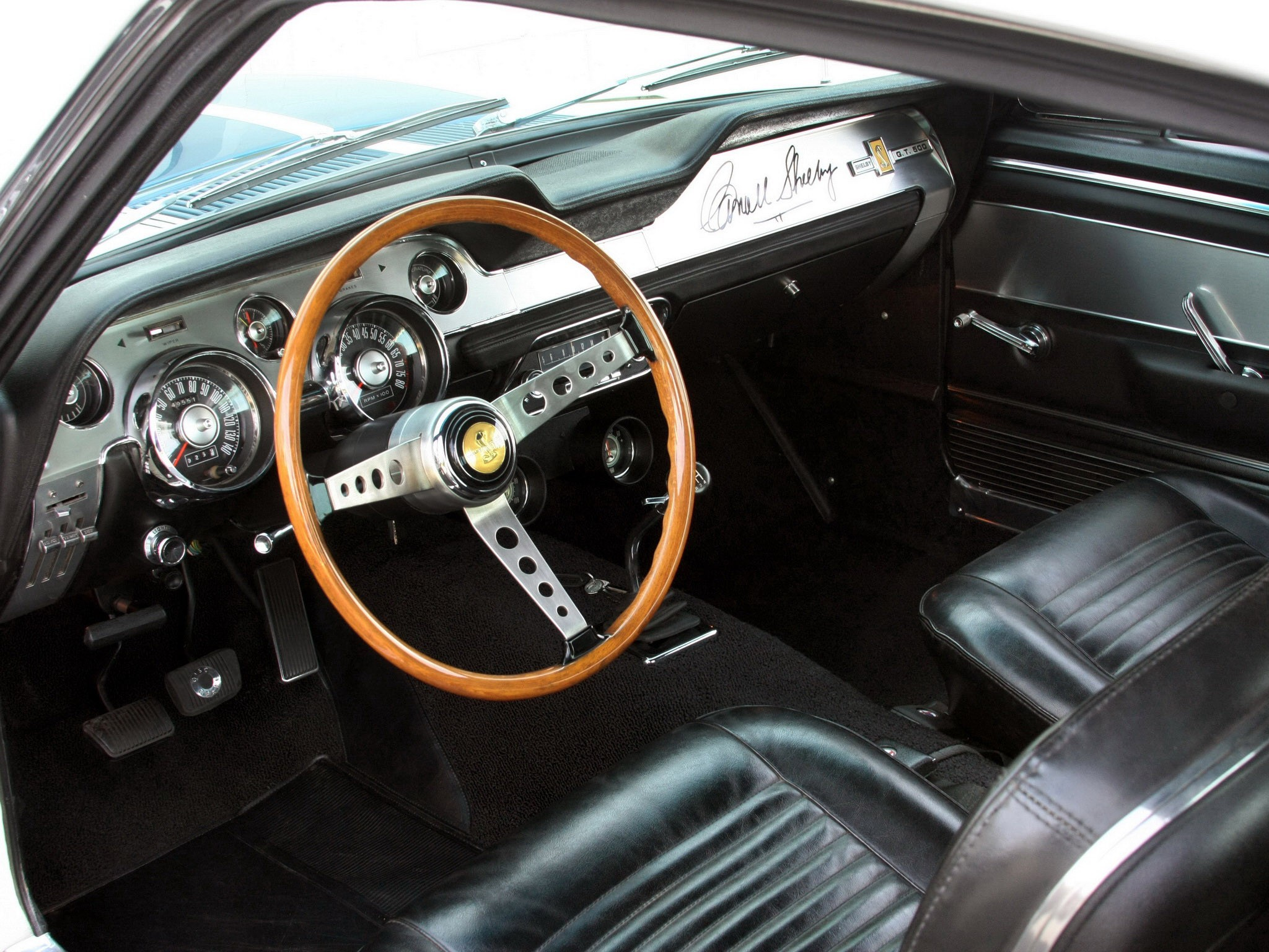Ford Mustang Shelby Gt500 1967 характеристики фото