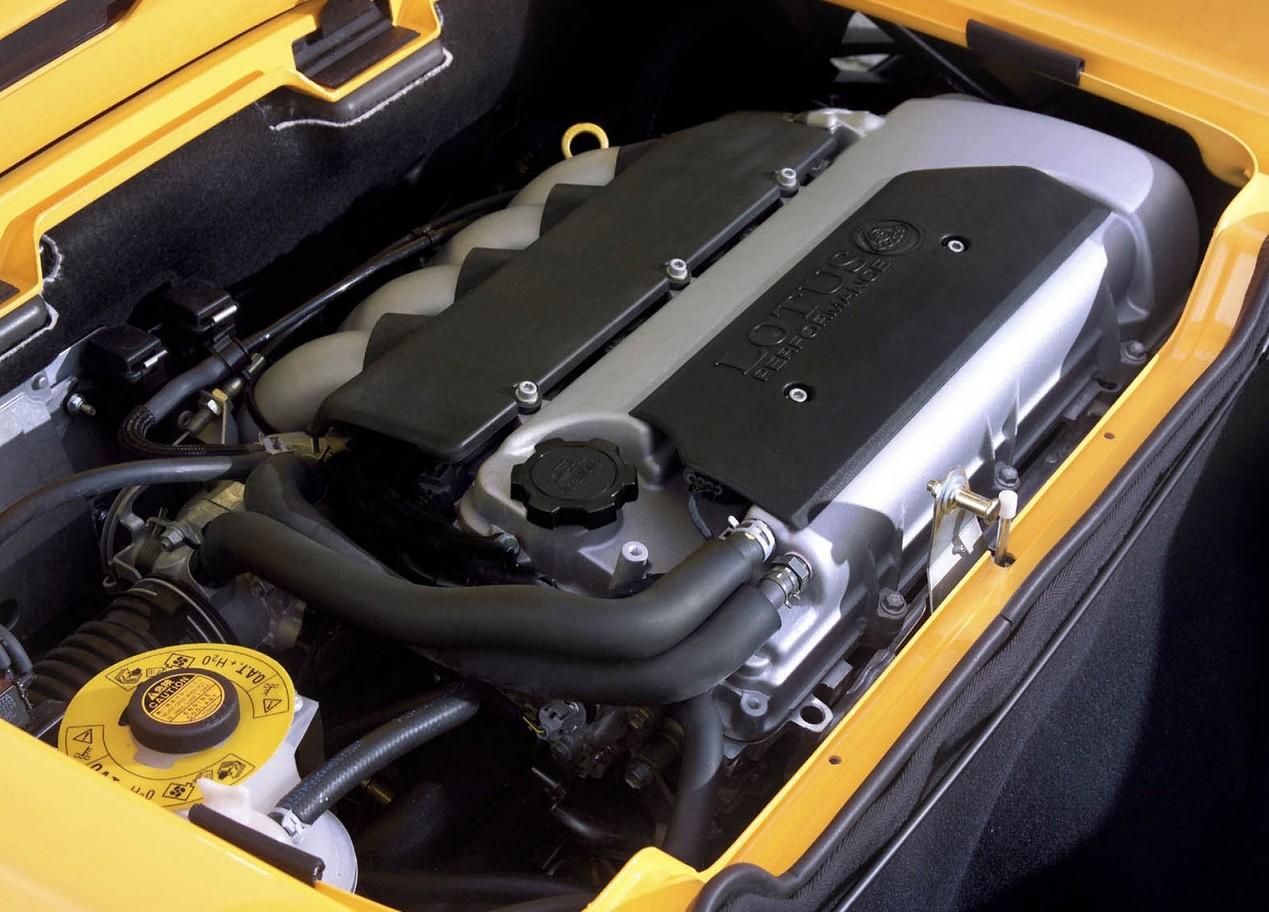 Lotus Elise двигатель