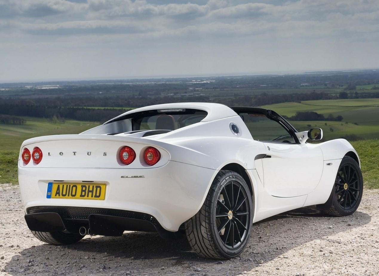 Белый Lotus Elise