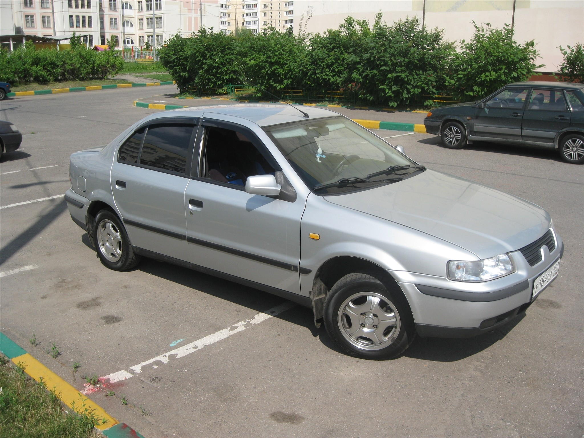 Iran Khodro Samand фото авто