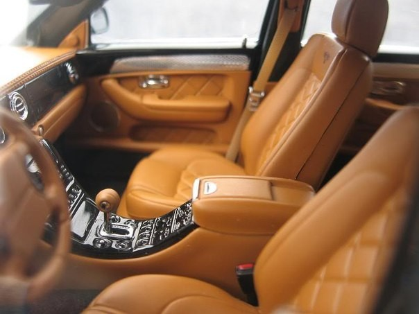 Салон Bentley Arnage T