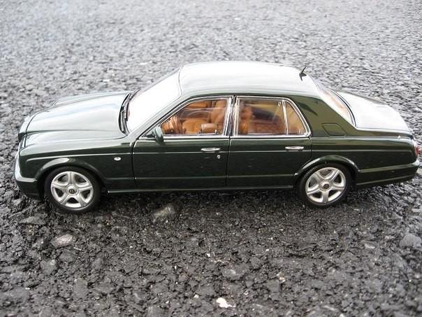Вид сбоку Bentley Arnage T