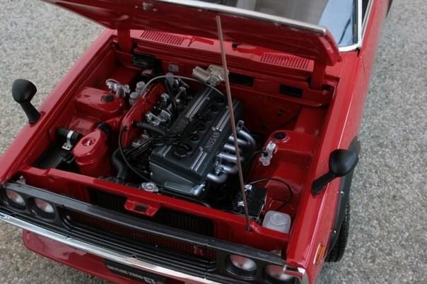 Nissan Skyline 2000GT-R KPGC110 фото двигателя
