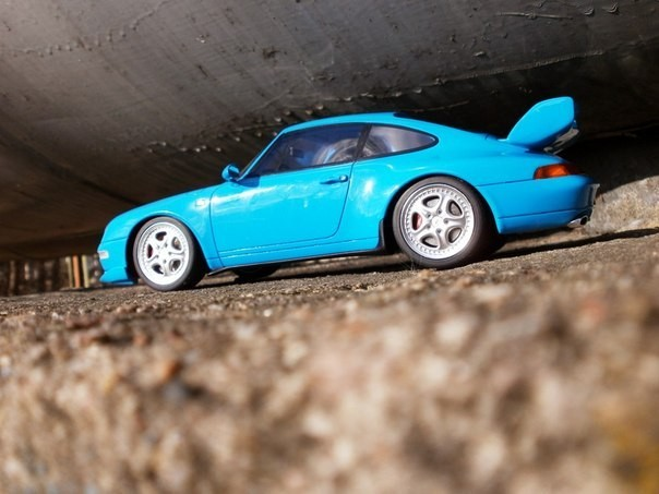 Porsche 911( 993) RS Club Sport car