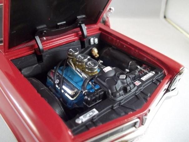 Двигатель PONTIAC GTO