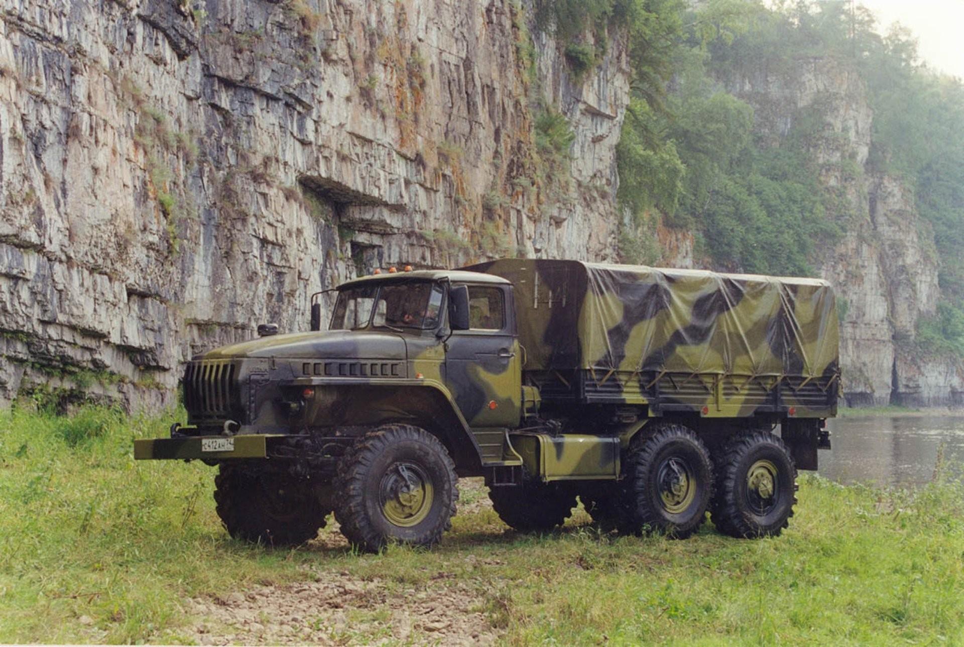 Урал-4320 фотография грузовика
