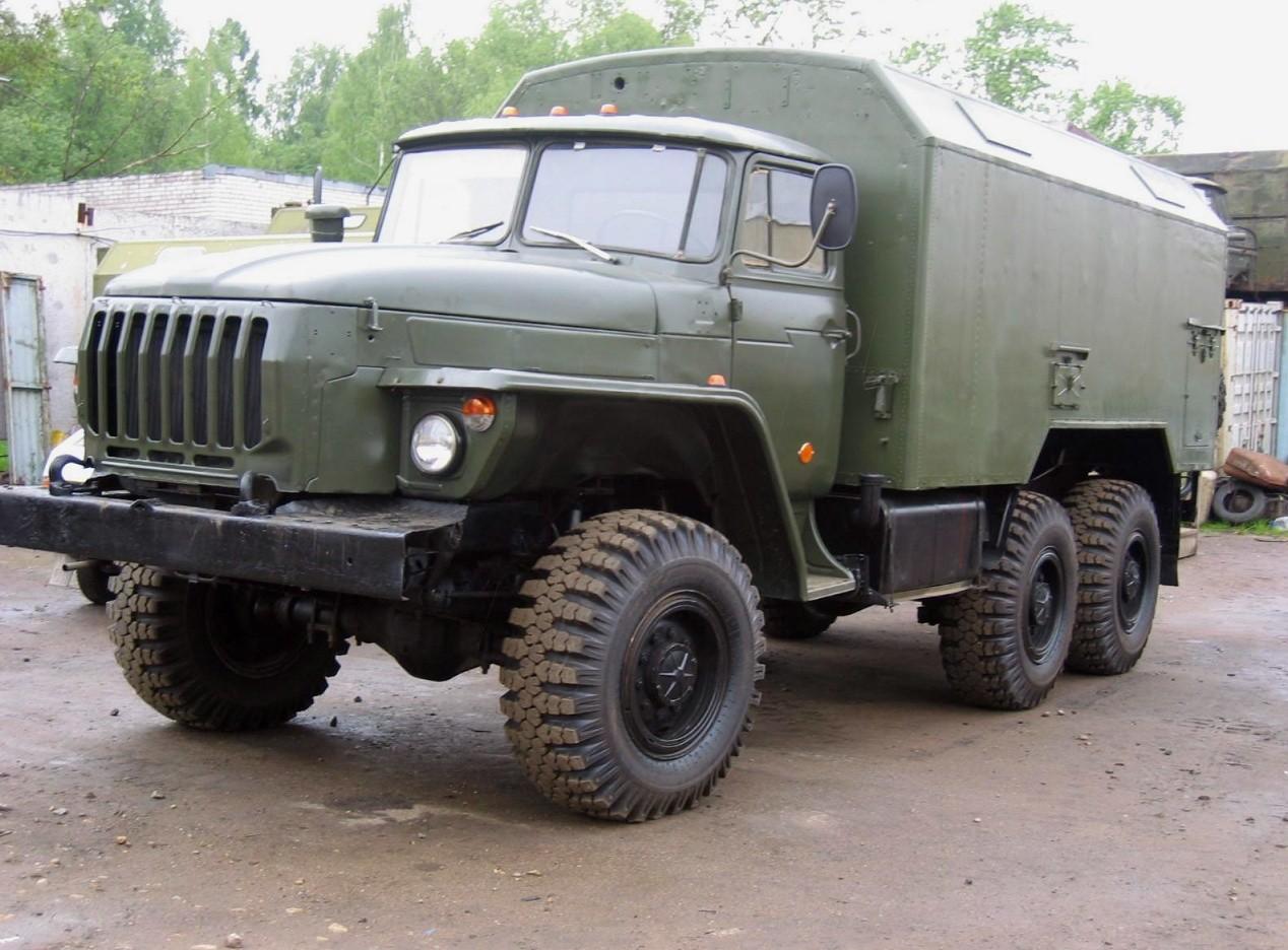 Урал-4320 вседорожник