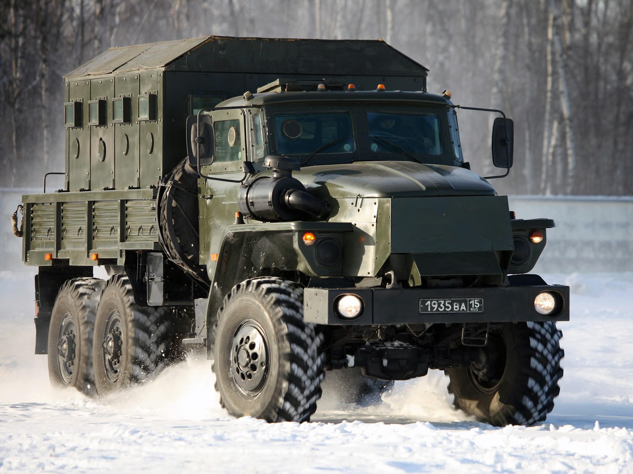 Урал-4320 фотография авто