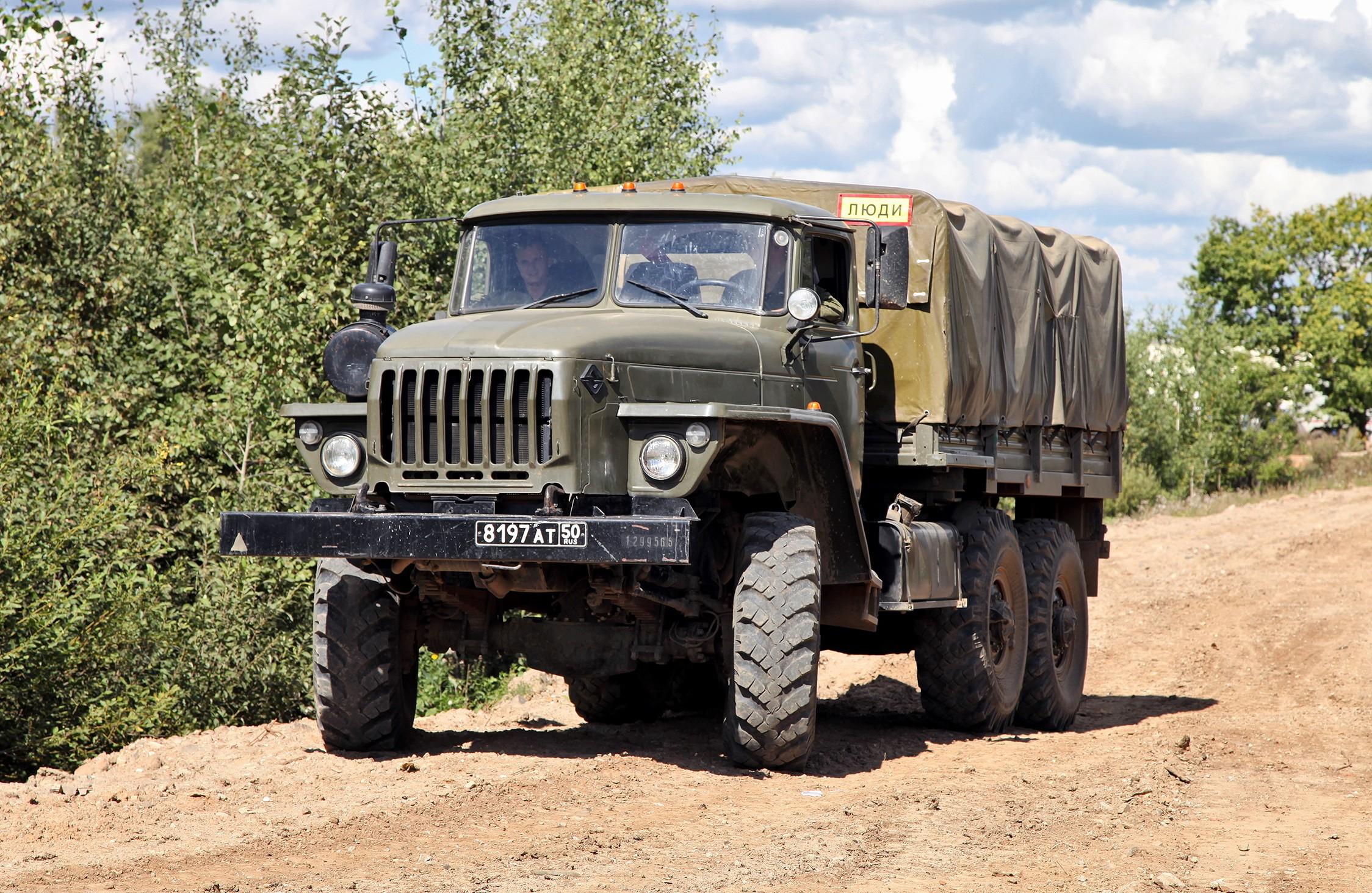 Урал-4320 фотография