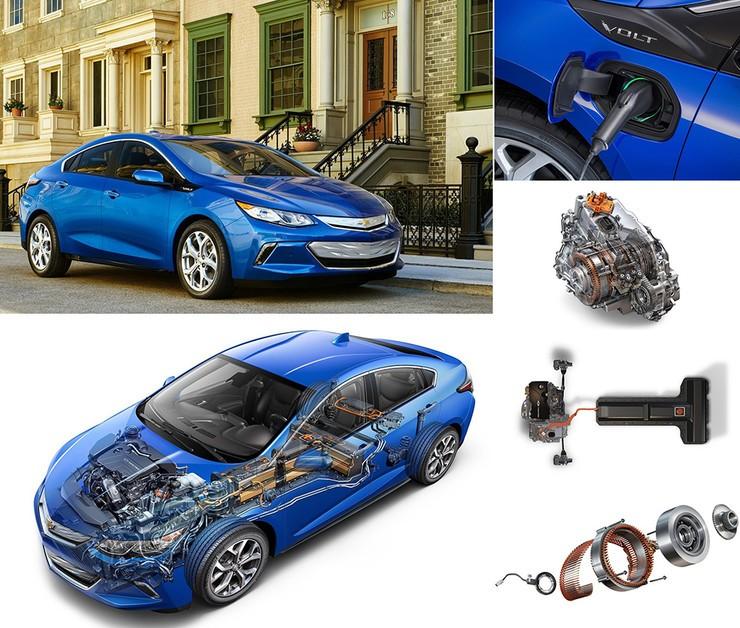 Chevrolet Volt фото