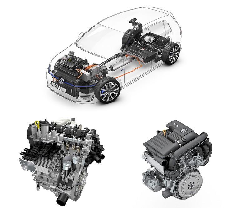 Volkswagen Golf GTE фото