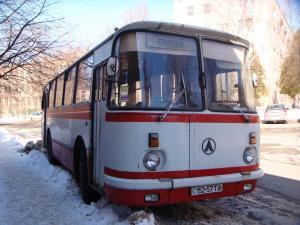 Вид спереди ЛАЗ-695