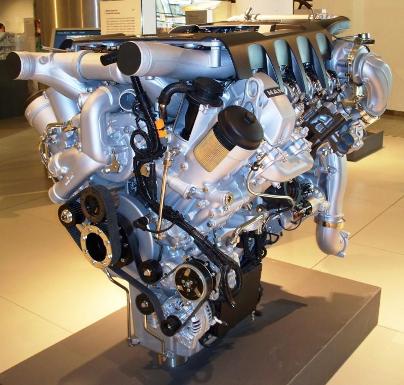 MAN TGX двигатель