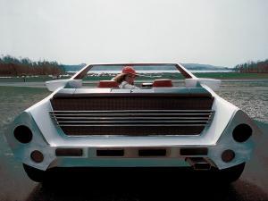 Вид сзади Autobianchi Runabout Bertone