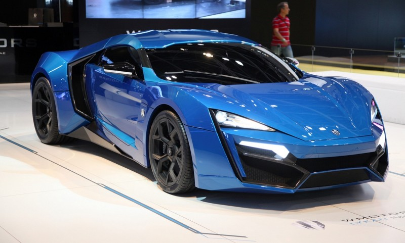 Автомобиль Lykan Hypersport