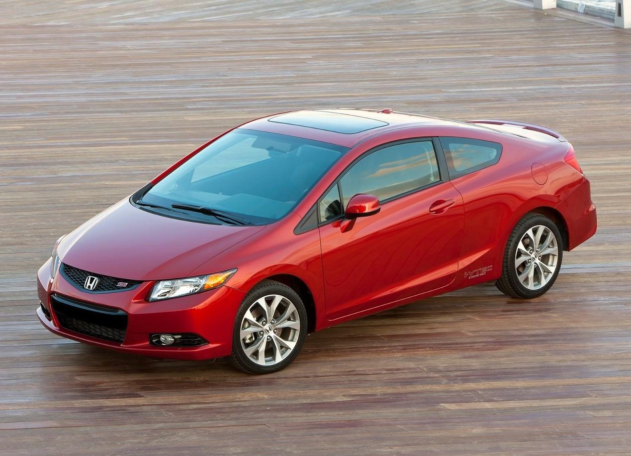 Honda Civic Si красная