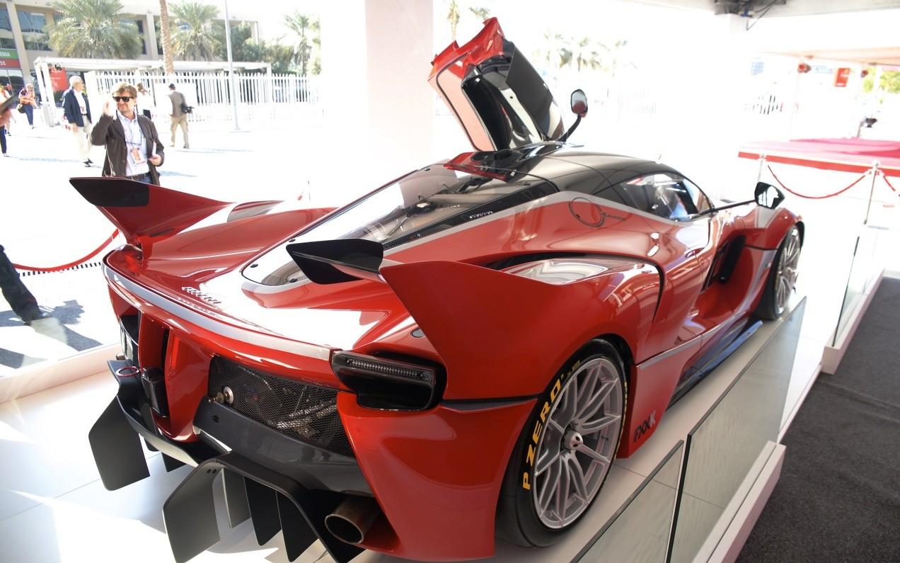 Рhoto car Ferrari FXX K