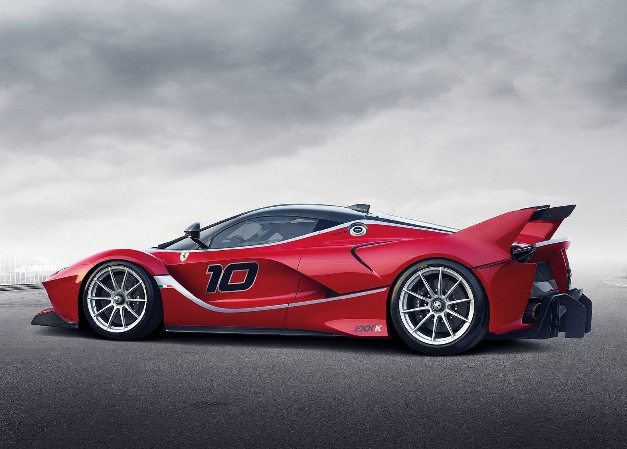 Вид сбоку Ferrari FXX K