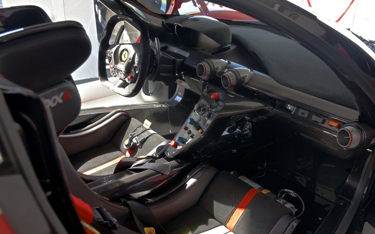 Салон Ferrari FXX K