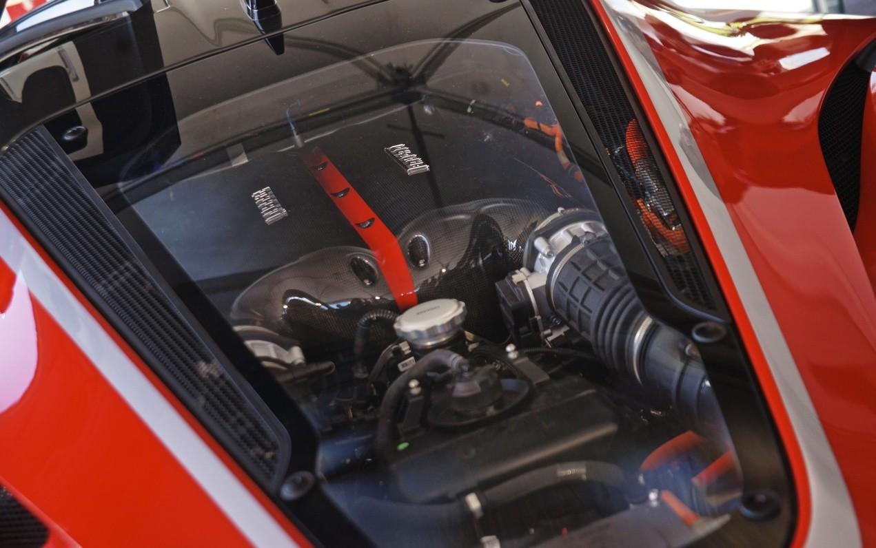 Двигатель Ferrari FXX K