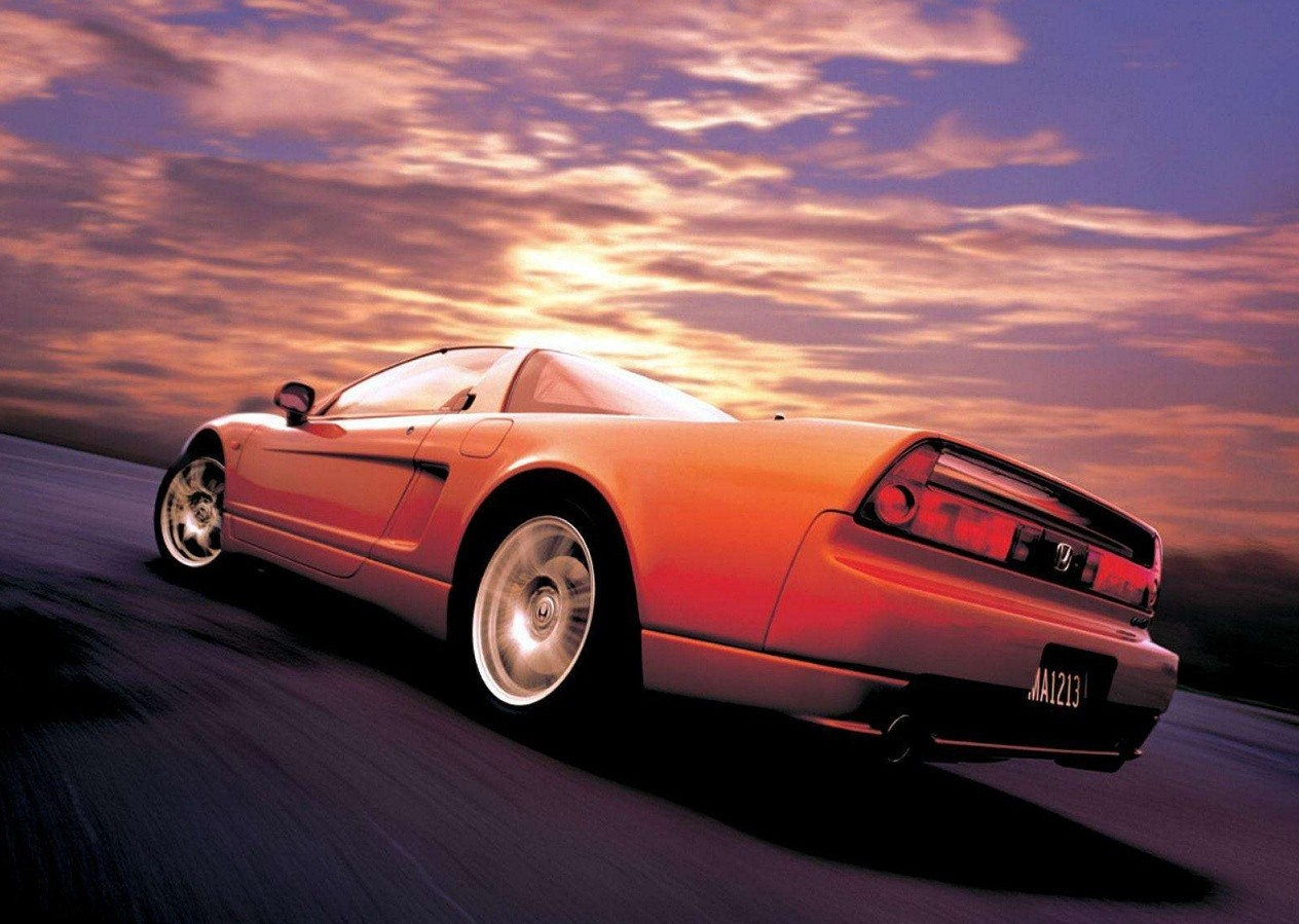 Honda NSX photo car