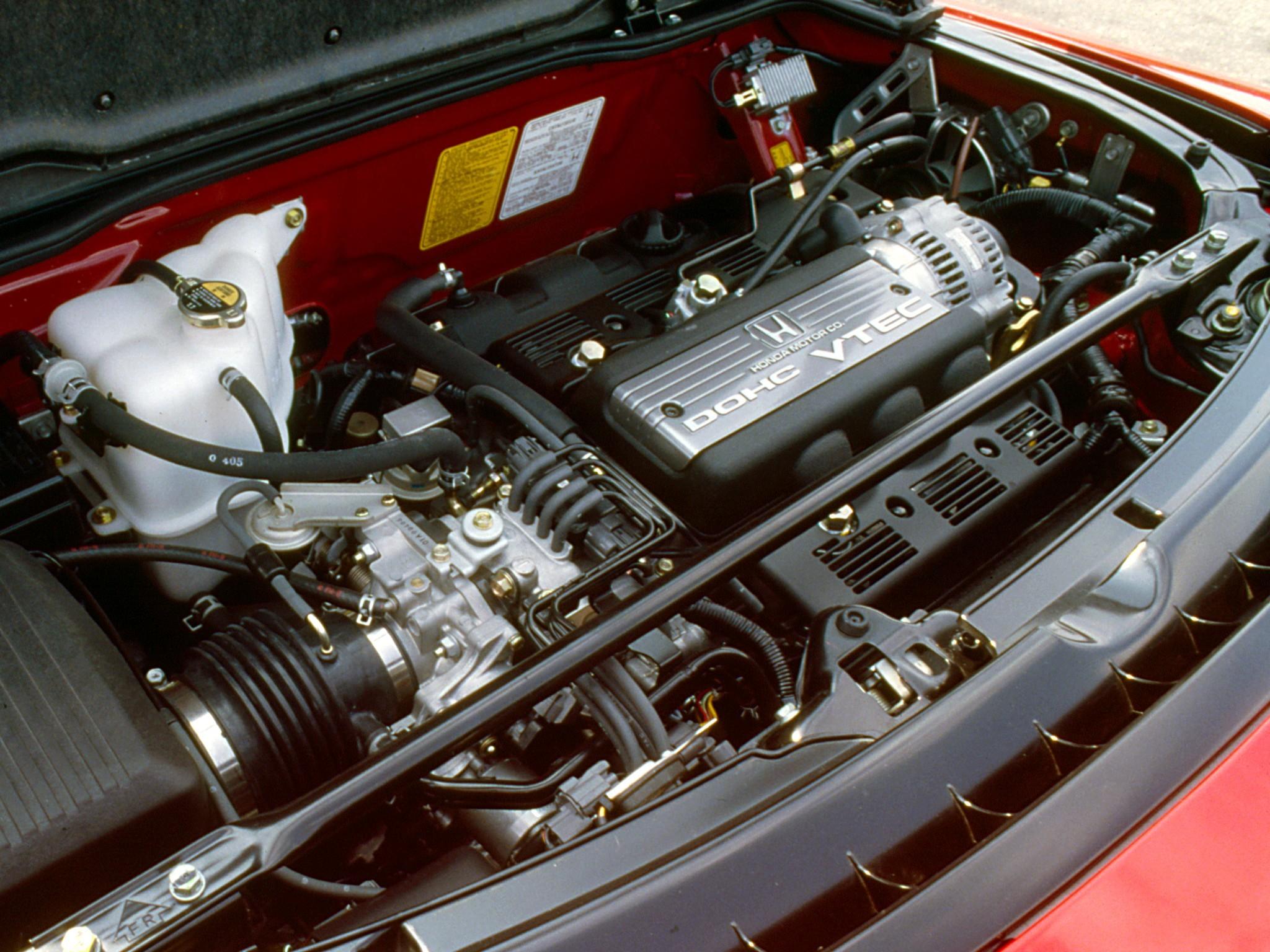 Honda NSX двигатель