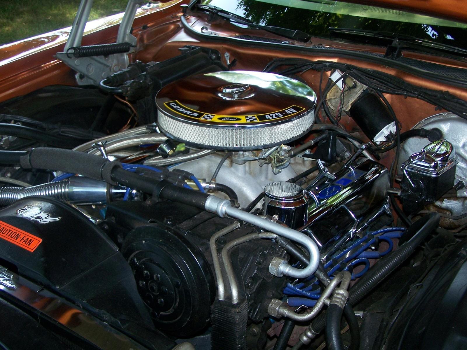 Ford Torino двигатель