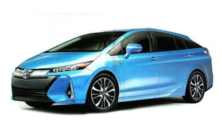 Toyota Prius авто