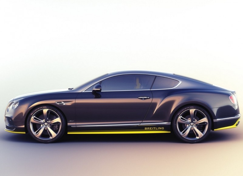 Bentley Continental GT Speed вид сбоку
