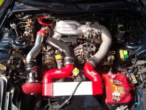 Mazda RX-7 двигатель