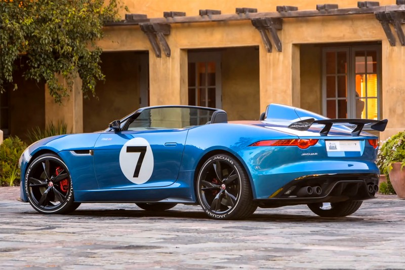Фотография автомобиля Jaguar F-TYPE Project 7