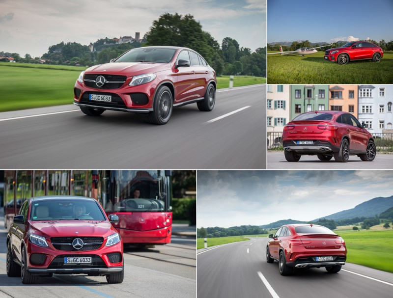 Mercedes-Benz GLE Coupe фотографии
