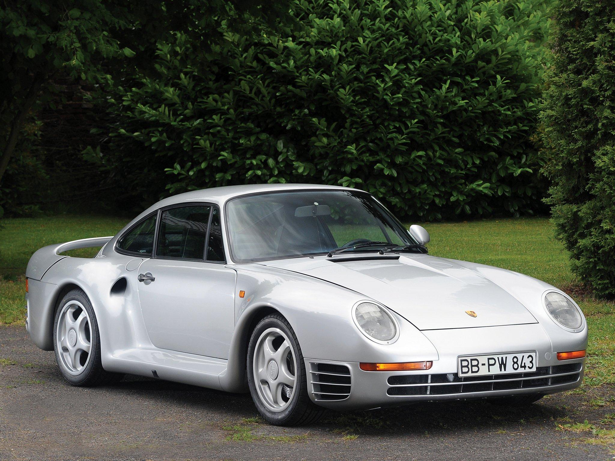Фото авто Porsche 959