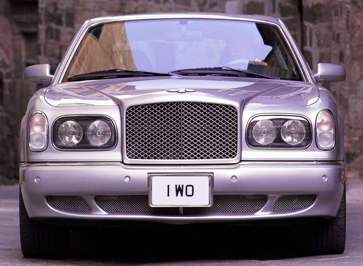 Bentley Arnage вид спереди